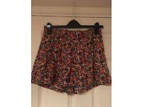 Top Shop Multi-Colour Shorts - Size 10