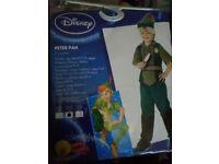 Disney rubies Peter Pan costume age 5-6 & 7-8 rrp £19.99