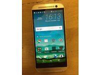 HTC M8, Unlocked,16GB,With Warranty