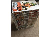 Naruto book collection 1-14