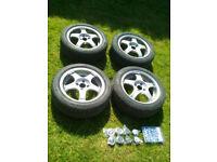 Rays alloy wheels 4 stud