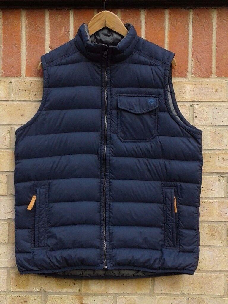 Timberland bear head padded vest