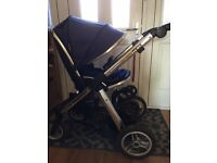 Oyster Max 2 Pushchair - Blue
