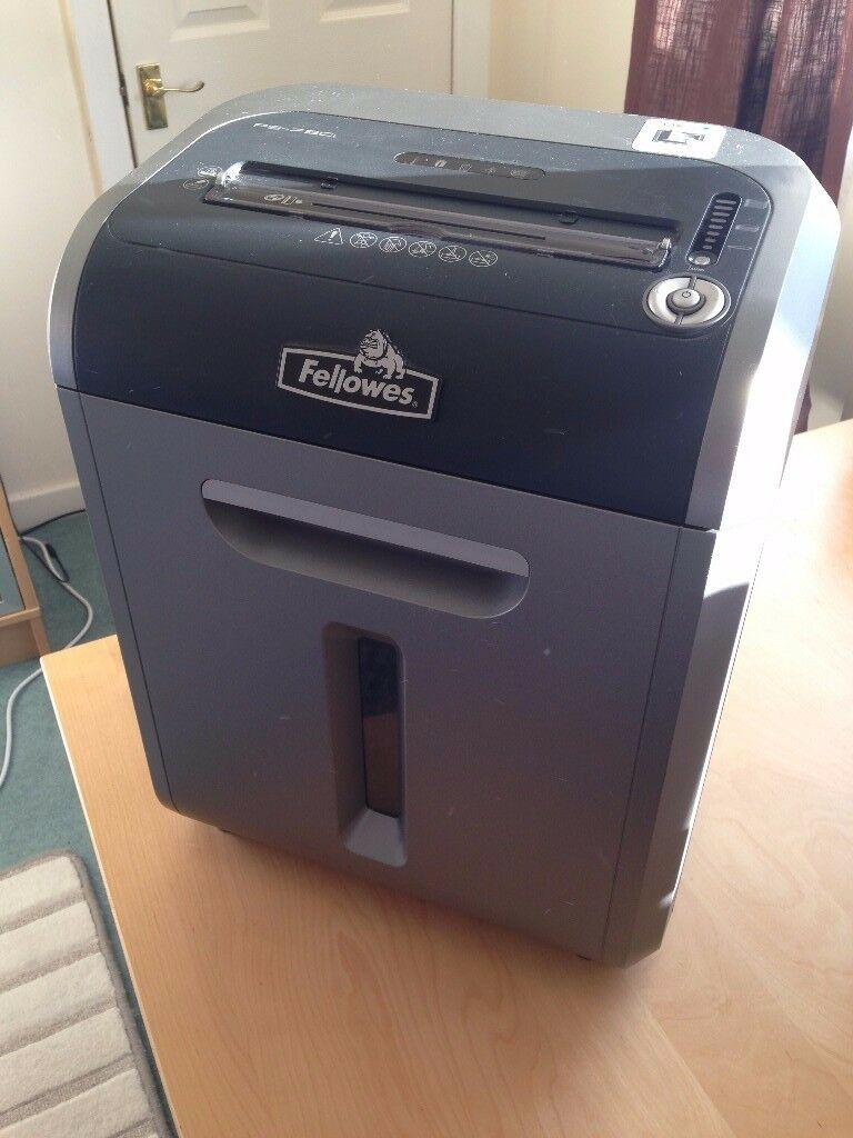 Fellowes 79Ci Cross Cut Jam Proof Shredder, Shreds CDs, Debit cards, up to 16 pages, very powerful