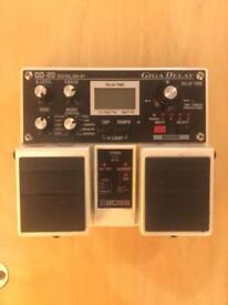 Boss DD-20 Digital Delay pedal