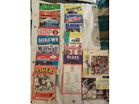 Football programmes - Big stock of all clubs