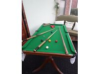 Snooker table/dining table