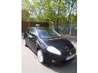 Fiat Grand Punto/ Diesal/ 2008/ Black/ 1.9/ F S H/ Low millege
