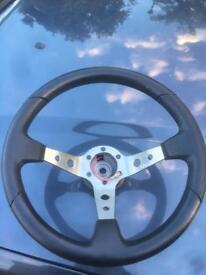 Nardi steering wheel and boss kit