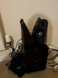 5.1 logitech speaker set