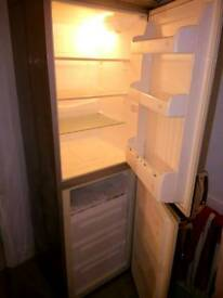 Grey/silver fridge freezer
