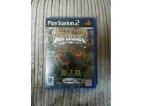 VERY RARE PLAYSTATION PS2 GAME MONSTER ATTACK COMPLETE RETRO GAMING