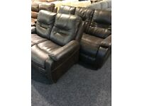 Used 3/2 brown suite -ore sofa recliner