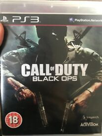 PS3 Call of Duty Black Ops £3