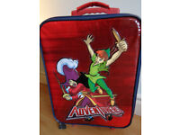 Disney adventures luggage peter pan from disney store
