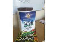 Sunwarriors Organic protein powder chocolate flavour, 1KG