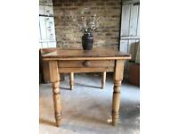 Rustic farmhouse kitchen dining table 4 seater
