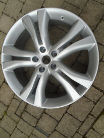 PROFESSIONALLY REFURBISHED 20 inch ALLOY WHEEL from a 2011 NISSAN MURANO, FITS OTHER VEHICLES