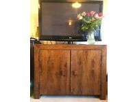 Solid Mango Wood cupboard/ sideboard