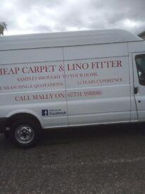 cheap carpet/lino fitter