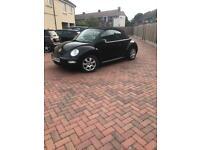 Vw beetle convertible new mot