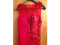 Party / Special Occasion Dress (Lady In Red) - Mascara Ladies Dress size 14