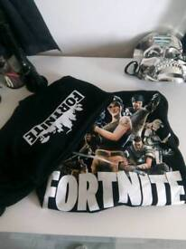 Fortnite Tracksuit jumper & cuffed trousers (soft baggy material)
