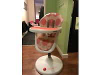cosatto 360 high chair..photos attached of description..bought for £160
