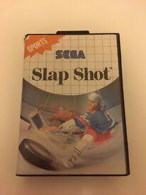 Slap Shot for Sega Master System with instructions