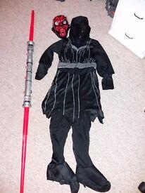 Darth Maul child's fancy dress costume