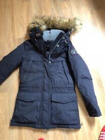 Napapijri Skidoo Coat dark Blue - Small (size 8/10)