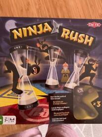 Ninja Rush board game brand new