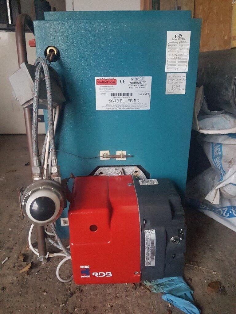 Oil boiler/burner 50/70 warmflow   in Ballymena, County Antrim   Gumtree