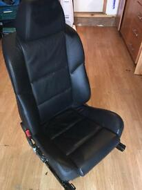 BMW e60 comfort seats full elect and heated driver and pasanger
