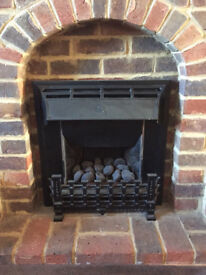 Cannon Gas Fire - Coal flame effect