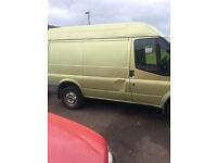 2007 ford transit van , new shape