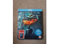 The dark knight 2 disc special edition blu-ray. In good working condition.