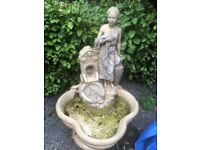 A Super quality Garden water feature by Henri Studio