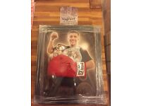 Gennady Golovkin signed glove in a dome