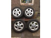 Peugeot 206 alloys and tyres