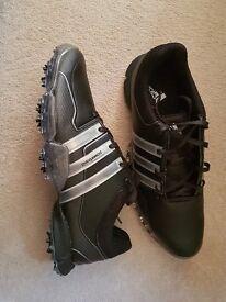 Adidas Powerband Tour Mens Golf Shoes Size 10