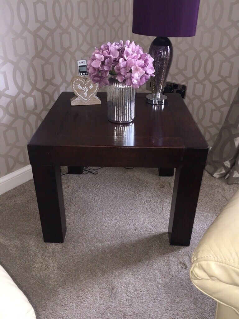 Superb Belgica Side Table Dark Solid Wood Good Condition In Borrowstounness Falkirk Gumtree Ibusinesslaw Wood Chair Design Ideas Ibusinesslaworg