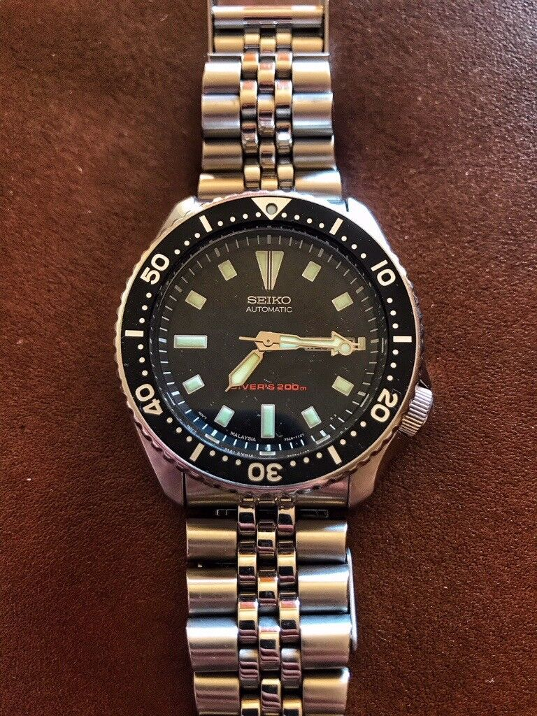 6ddc6d5eeaa Seiko SKX173 (SKX007) diver s watch. Great condition