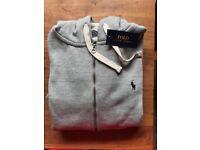 Ralph Lauren Hoodie Grey S XL