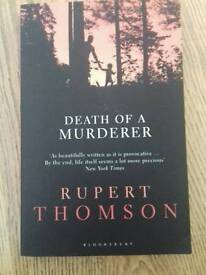 Death of a Murderer by Rupert Thomson for only £5
