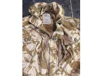 Windproof camo jacket