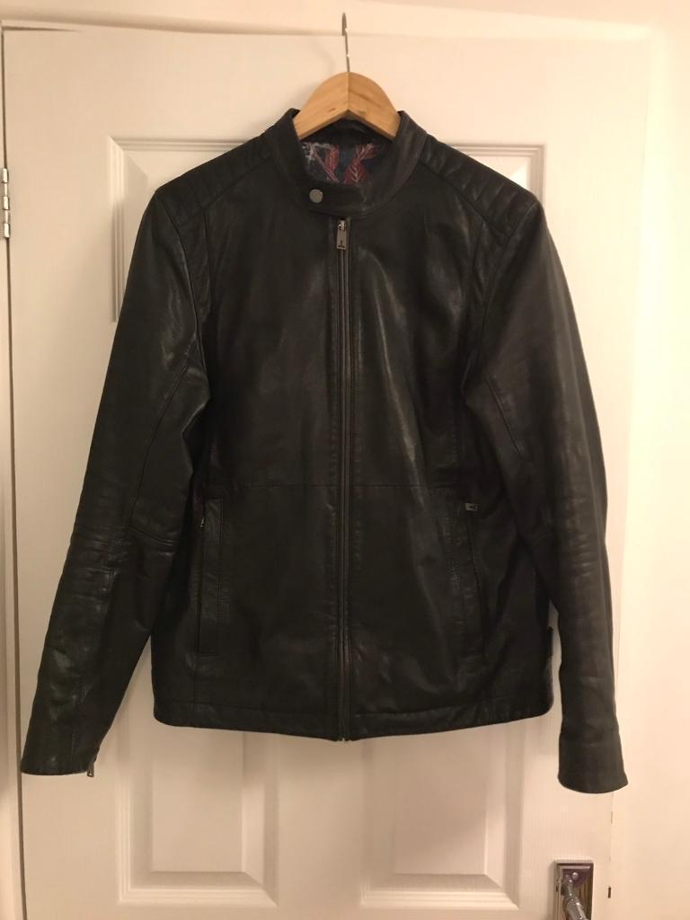 48139cf17a016 Ted baker men s leather jacket