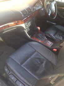 BMW 525i semi auto 2002