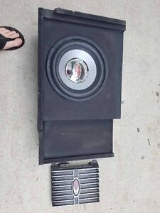 """10"""" Subwoofer and Amp"""