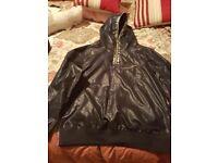Mens Luke 1977 hooded waterproof jacket